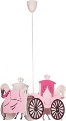 Lámparas para niñas Carroza real