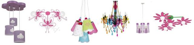 Selección Lámparas para niñas