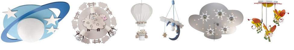 Selección lámparas bebes